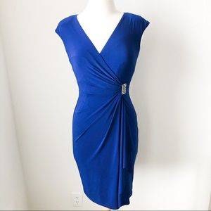 American living royal blue dress size 2